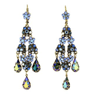 <img class='new_mark_img1' src='https://img.shop-pro.jp/img/new/icons24.gif' style='border:none;display:inline;margin:0px;padding:0px;width:auto;' />35%OFF Michal Negrin - イヤリング・ピアス/CHELSEA EARRINGS(ブルー)