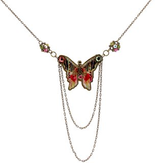 Michal Negrin - ネックレス/METAL PRINT NECKLACE(蝶)