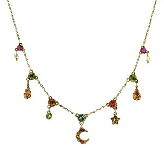 Michal Negrin - ネックレス/MOON x STAR NECKLACE(マルチ)
