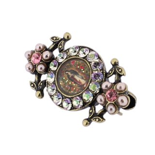 <img class='new_mark_img1' src='https://img.shop-pro.jp/img/new/icons5.gif' style='border:none;display:inline;margin:0px;padding:0px;width:auto;' />Michal Negrin - ブローチ/CIRCLE CAMEO BROOCH(マリア様×ルミナス)