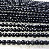 オニキス ラウンドビーズ 4mm 10粒/50粒入(15815952)