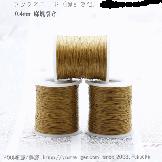 【麻/薄茶色)】チャンルー風ラップブレスレット手作り材料:編み紐・編み糸0.4mm