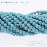 ターコイズ(トルコ石)ブルーマグネサイト 4mm  10粒/100粒(51921838)