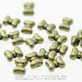 リボンモチーフメタルパーツ・ビーズロンデルアンティークゴールド 7*10mm穴径1.5� 【55262859】