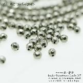 天然石ビーズ パイライト(黄鉄鉱石)ゴールデンパイライトAAA ラウンドカットビーズ 4mm 2粒〜【57556523】