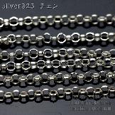 シルバー925クローズリング 甲丸チェーン2.0mm切り売り/10cmから(60010793)