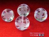 天然石パワーストーン水晶彫刻(四神彫刻)バラ売り,セット売り12mm【83704379】