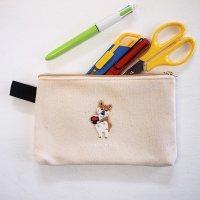 ポケファス(pokefasu) コラボ フラットケース ワンモア柴犬