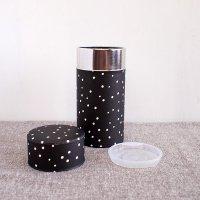 星燈社(せいとうしゃ) 茶筒(大)「雪夜」200g