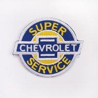 レーシングワッペン CHEVROLET SUPER SERVICE シボレー