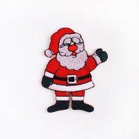 ワッペン サンタクロース クリスマス