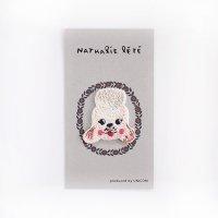 ナタリー・レテ 刺繍ワッペン Poodle(プードルの顔)