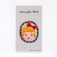 ナタリー・レテ 刺繍ワッペン Girl(女の子)