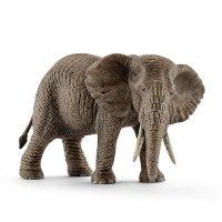 シュライヒ(Schleich)アフリカ象(メス) ドイツの動物フィギュア