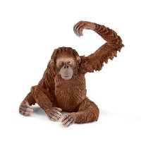 シュライヒ(Schleich)オランウータン ドイツの動物フィギュア