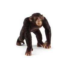 シュライヒ(Schleich)チンパンジー(オス) ドイツの動物フィギュア