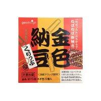 オモシロ文具 金色 納豆くりっぷ クリップ