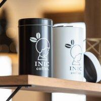 INICコーヒー キャニスター缶