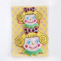 カーリーコレクション ワッペン いちごちゃん2Pセット