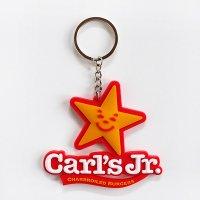 ラバーキーホルダー  Carl's Jr. カールスジュニア ハンバーガー