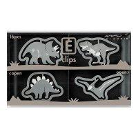エッチングクリップス 恐竜柄