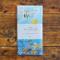 今日のお手紙 スイスイ熱帯魚 美濃和紙レターセット