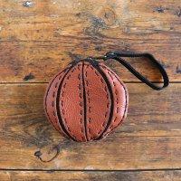 本革 ポーチ バスケットボール コインケース 小銭入れ 財布