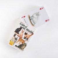 Cats of the World ネコの図鑑のようなトランプ プレイングカード