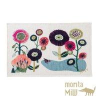 morita MiW ティータオル 花とドードー - あの時の庭