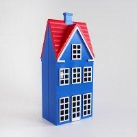 デンマーク製 ハウス型 コインバンク 貯金箱