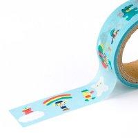 AIUEO マスキングテープ CHIBI 365