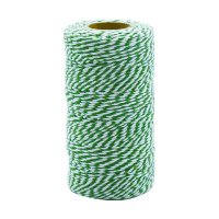 DULTON(ダルトン)巻き糸 TWISTED STRING ホワイト×グリーン 紐