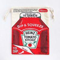 アメリカン巾着袋 大 Heinz-ハインツ トマトケチャップ