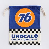 アメリカン巾着袋 大 UNOCAL76-ユノカル 76 union OIL