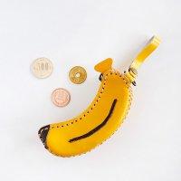 本革 ポーチ バナナ コインケース 小銭入れ 小物入れ