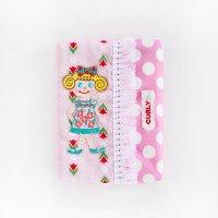 Curly カーリーコレクション ティッシュケース いちごちゃん ピンクドット