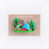 ドイツ製 ピンブローチ カエルの王子さま WALTER&PREDIGER 童話・民話
