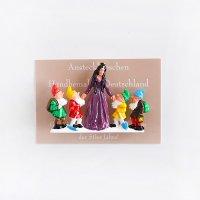 ドイツ製 ピンブローチ 白雪姫 WALTER&PREDIGER 童話・民話