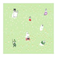 <img class='new_mark_img1' src='//img.shop-pro.jp/img/new/icons5.gif' style='border:none;display:inline;margin:0px;padding:0px;width:auto;' />ムーミン ハンカチ ひなたぼっこ リーフ MOOMIN TRIBUTE WORKS