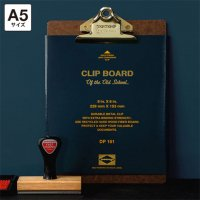 Penco ペンコ クリップボード オールドスクール ゴールド A5サイズ バインダー