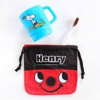 アメリカン巾着袋 小 HENRY 掃除機ヘンリー 給食袋 コップ袋