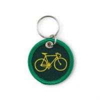 スティッチワークキーホルダー BICYCLE 自転車