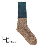 ポルトガル製ウールソックス 【H-Foot wear】 REGIMENT GR×BE 男女兼用(23-27cm)