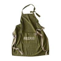 畳んでしまえる アンドパッカブルエプロン 男女兼用 「AVOCADO-アボカド」