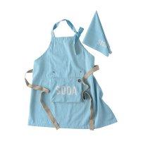 畳んでしまえる、サイズ調整できる パッカブルエプロン 「SODA-ソーダ」 Kids