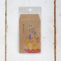 仏像ポチ袋 「ありがとう」 観音