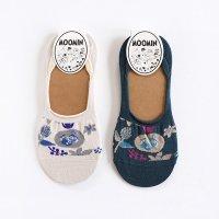 MOOMIN-ムーミン BLOOM ミイ ソックスカバー パンプスソックス 23-25cm
