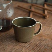プレーリー マグカップ オリーブ 美濃焼 日本製 小田陶器