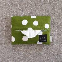 星燈社(せいとうしゃ) ちり紙いれ 「抹茶白玉」 ポケットティッシュケース