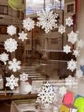 手漉き和紙・雪の結晶